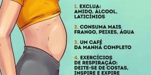 Tipos de barriga que não tem nada a ver com sobrepeso, confira!