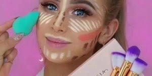 Transformação incrível feita com maquiagem, você vai amar!