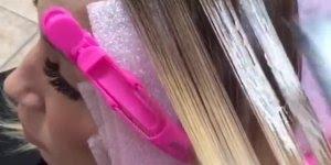 Transformações de cabelos loiros para coloridos, você vai se apaixonar!!!