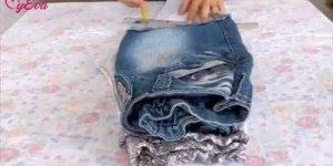 Transformando uma calça Legging em um vestido, que ideia bacana!