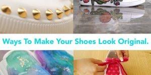 Tutorial de como customizar tênis e sapatos e deixa-los bem mais lindinhos!!!