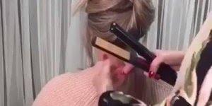 Tutorial de como enrolar os cabelos com chapinha, ótimo para fazer no Réveillon!