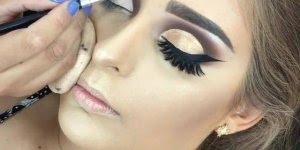 Tutorial de maquiagem, um verdadeiro desenhos em seus olhos!