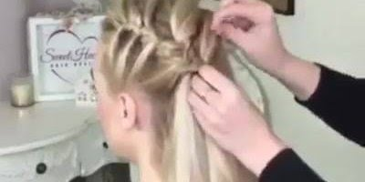 Tutorial de penteado lindo para você fazer nas clientes, vale a pena conferir!!!