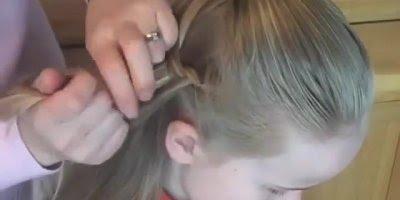 Tutorial de penteado para garotinhas, bora compartilhar com as mamães!!!