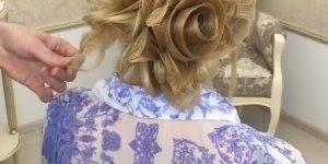 Tutorial de penteados lindo! Veja só este penteado todo desenhado!!!