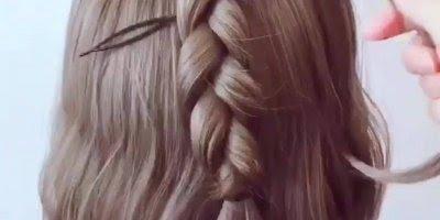Tutorial de penteados para cabelos curtos, vale a pena conferir!!!!