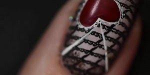 Tutorial de unhas decoradas com corações de várias formas diferentes!!!