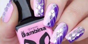 Tutorial de unhas decoradas com técnica de esponjinha e carimbo!!!