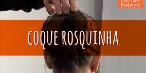 Um penteado lindo, rápido e fácil pata qualquer ocasião, amei!!