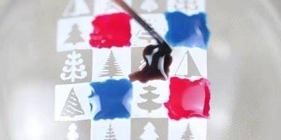 Unha decorada com tema de natal, olha só este desenho que lindo!!!