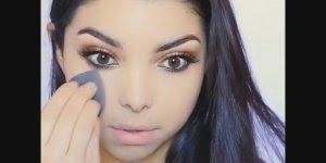 Veja só este tutorial de maquiagem! Ela manda muito bem na make!!!