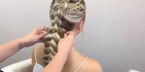 Vídeo com inspiração de penteado digno de uma rainha, olha só que lindo!!!