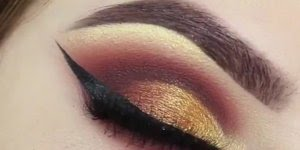Vídeo com inspiração de sobra para os olhos nas cores marrom e dourado!!!