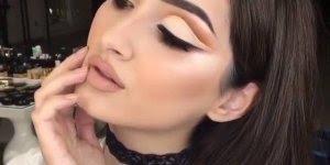 Vídeo com linda maquiagem, olha só estes olhos que perfeição!!!
