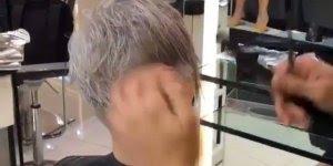 Vídeo com linda transformação de cabelo, olha só que lindo!!!