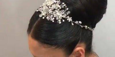 Vídeo com lindo penteado para noivas, simplesmente maravilhoso!!!