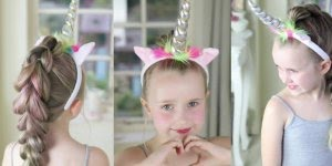 Vídeo com lindo penteado para você fazer em sua filha, sobrinha, priminha!!!