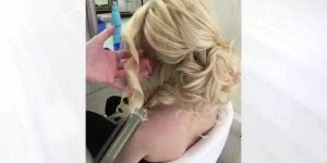 Vídeo com penteado lindíssimo, até parece uma obra de arte de tão lindo!!!