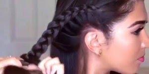 Vídeo com penteados super lindo e fáceis para você mesma fazer!!!