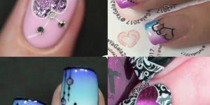 Vídeo com tutoriais de unhas decoradas lindas, você vai se apaixonar!!!