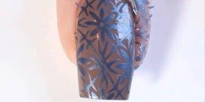 Vídeo com unhas decoradas perfeitas, são desenhos originais e muito bonitos!!!