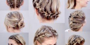 Vídeo com vários penteados para cabelos curtos para você mesma fazer!!!