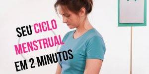 Vídeo mostrando o que acontece no sue período menstrual, confira!!!