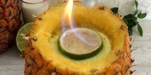 Bebida de abacaxi para tomar com os amigos, uma delicia de batida!