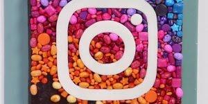Brownie com a cara da rede social de fotos mais acessada, o Instagram!