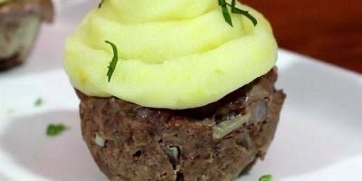 Cupcake Salgado, mais uma ideia para suas festinhas com amigos!
