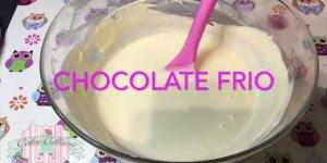 Ganache de Chocolate Branco, todas as dicas para fazer da melhor forma!