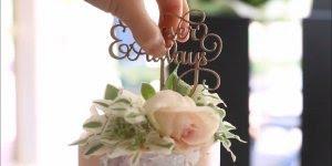 Mini bolos para casamentos sedo confeitados, uma nova tendencia muito legal!!!