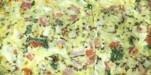 Omelete de forno, uma opção perfeita para alternar o cardápio!