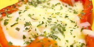 Pimentão recheado com ovo - Uma receita que irá te surpreender!