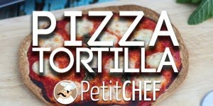 Pizza de Tortilla - Uma ideia fácil e rápida, confira e compartilhe!