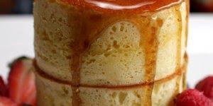 Receita de bolo de panqueca, que tal preparar para o café da manhã?