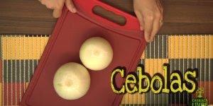 Receita de Cebolas Empanadas, para servir como delicioso petiscos!