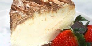 Receita de cheesecake de creme irlandês, olha só que maravilha!!!