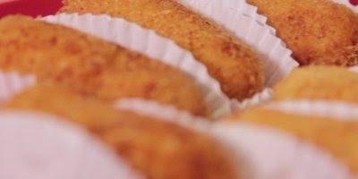 Receita de Croquete de Arroz e queijo, uma ótima opção para o fim de semana!!!