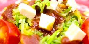 Receita de Espaguete de Abobrinha - Saudável e surpreendente!