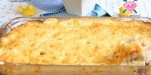 Receita de Rondelli com Molho Branco, um prato que é super fácil de fazer!