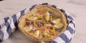 Receita de Torta à Portuguesa, fácil e rápido de preparar!!!