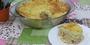 Receita de Torta Escondidinho de Frango, uma receita maravilhosa!