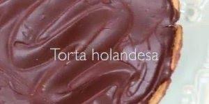 Receita de Torta Holandesa, mais uma sobremesa de dar água na boca!