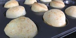 Receita fácil de pão de queijo de liquidificador, muito bom!