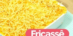Receita mais fácil de Fricassê de Frango, uma delicia de fazer e de comer!