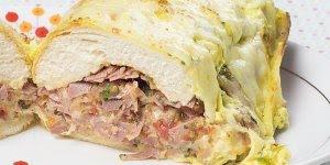 Sanduíche de Forno Caseiro, é simplesmente maravilhoso!!!
