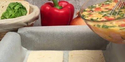 Sanduíche de Omelete, já imaginou essa combinação? Confira!