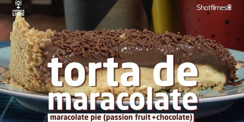 Torta de maracujá com chocolate, a combinação perfeita para sua sobremesa!